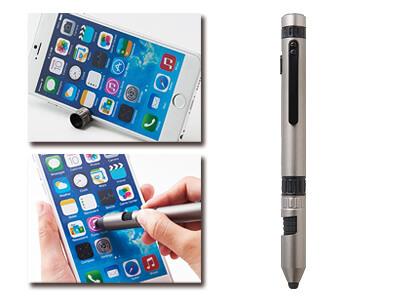 LED付多機能ツールペン